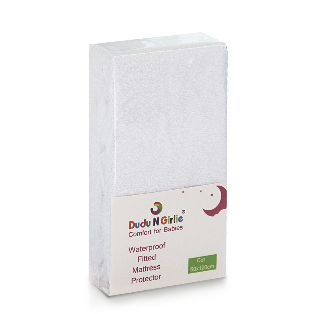 Waterproof Mattress Protector 100 Cotton Dudu N Girlie