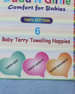 Terry Towelling Nappies